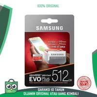 Memory Memori Hp MMC Card Micro SD SAMSUNG 512GB EVO Plus U3 512 GB