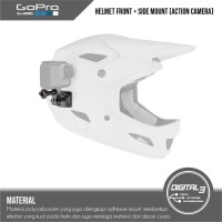 GoPro Helmet Front and Side Mount Go Pro Helmet Helm Mounting Original