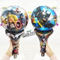 balon pentung avenger lego / balon foil / balon stick avenger lego