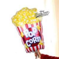Balon Foil Popcorn JUMBO balon Cake Popcorn / Balon Foil Popcorn JUMBO