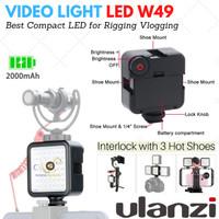 LED W49 Video Light W 49 Lampu Studio Dslr Smartphone HP Vlog