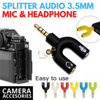 Splitter Audio Shape U 3.5mm ke Mic & Heaphone