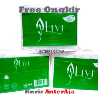 Tissue Livi Eco Facial 600 sheets 2ply hargamurah