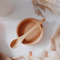 Wooden Spoon/Sendok Katu/Sendok Teh Kopi Kue