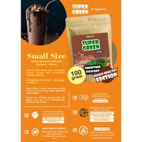 BUBUK MINUMAN SEHAT PREMIUM DIET KETO SUPER GREEN FOOD SMOOTHIE 100 GR