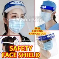 APD Pengaman Pelindung Wajah Safety Face Shield Mask Medis Dental - A