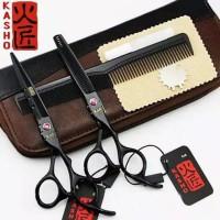 paket alat gunting manual pemotong rambut besi stenlist steel paket