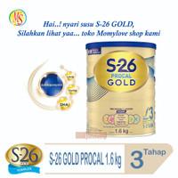 S26 PROCAL GOLD 1600g Tahap 3 – Susu Pertumbuhan Anak - Kuning