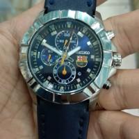 jam tangan pria seiko sports quartz chronograph