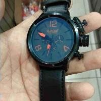 jam tangan pria kondisi baik chronograph otomatis