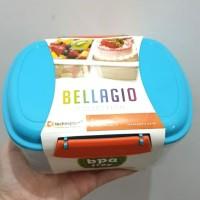 Kotak makan plastik lunch box bellagio BPA free