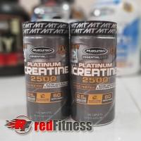 Muscletech Platinum Creatine 2500 120 Caplets / Tabs Caps Tablet
