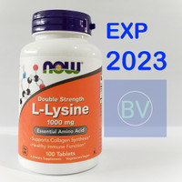Now Foods L-Lysine 1000 mg 100 Tablets Now Food