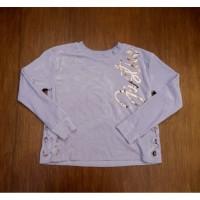 sweater anak original justice warna soft purple