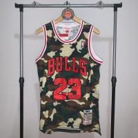 Jersey Basket Swingman NBA Chicago Bulls Michael Jordan Camo Army