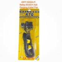 kabel set 2 riley relay rellay lampu mobil H4 bosch original