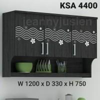 New Kitchen set /lemari gantung atas 4400 (Dark)
