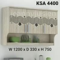 NEW Kitchen set /lemari gantung atas polos 4400 (Light)