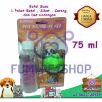 Botol Susu Minum Hewan Pet Nursery Kit 75 ml