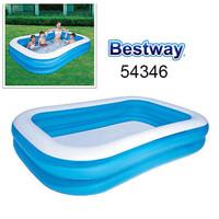 PROMO Bestway KOLAM Renang Anak & Keluarga 54005 - 54346 Hijau / Biru