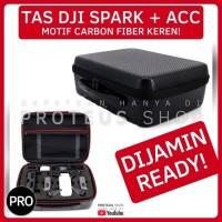 ✅ TAS DRONE SHOULDER BAG CARBON FIBER DJI SPARK KOPER ANTI AIR
