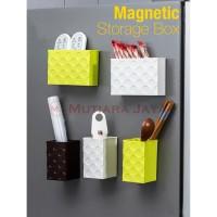 Rak Kotak Penyimpanan Magnet Tempel Kulkas - 101
