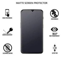 TEMPERED GLASS MATTE ANTI MINYAK FINGER GLARE OPPO F11 A5 A9 2020 R17