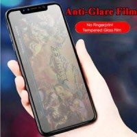 TEMPERED GLASS MATTE ANTI MINYAK FINGER GLARE IPHONE X XS 11 PRO