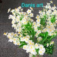 Bunga mini star/ mini star palsu/ bunga plastik/ bunga mini