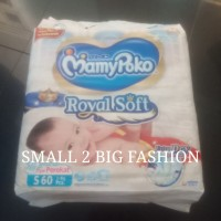 mamypoko tape perekat extra dry royal soft S 60 S60 M56 M56 mamy poko
