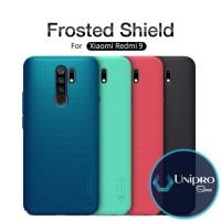 Hard Case Nillkin Super Frosted Shield Xiaomi Redmi 9 Original Casing - Black