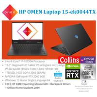 "HP OMEN 15-ek0044TX - i7-10750H 16GB 1TB SSD RTX 2060 6GB 15.6"" 144Hz"