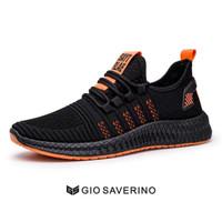 Sepatu Sneakers Pria Gio Saverino HUGO Fashion Sport Shoes Adidas