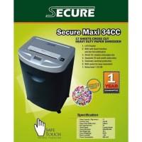 Mesin Penghancur Kertas Paper Shredder Secure Maxi 34CCM