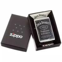 Zippo Original 24779 Jack Daniels Logo Street Chrome