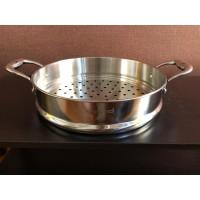 NO BOX Zebra Steaming Plate 30 Cm Estio (164755) / Panci Steam