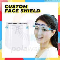 Face Shield Custom / Faceshield Custom / Face Shield Kacamata Custom