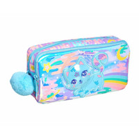 Smiggle Space Cat Far Character Pocket Pencil Case