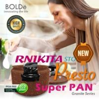 PANCI PRESTO SUPER PAN BOLDe 24 CM - GRANITE COATING - ANTI LENGKET