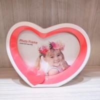 Frame Photo Bentuk Love Ukuran Kecil Premium Quality/ Harga TERMURAH!!