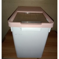 RICE BOX IMPORT 15KG 39x23x29, BOX TEMPAT BERAS, STORAGE BOX SERBAGUNA
