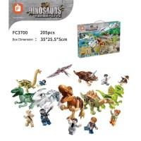 FC3700 Lego Dinosaurus Dinosaur 8 Model