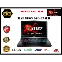 MSI GF63 9SC-621ID i5 9300H 8GB 256GB-SSD GTX1650 4GB W10 15.6FHD 60Hz