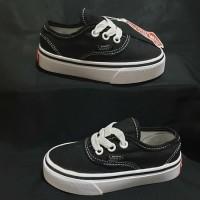 Sepatu Anak Vans Authentic black white Unisex BNIB