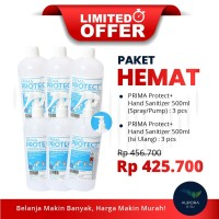 [LIMITED OFFER] PAKET HEMAT Prima Protect+ Spray & Isi Ulang (3 Paket)