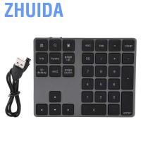 Zhuida Keyboard Numerik Wireless 34 Tombol Mini untuk Laptop /