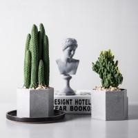 Simulasi Kaktus Table Top, Kabinet Anggur Bonsai, Simulasi Ornamen