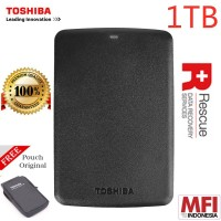 TOSHIBA Canvio Hard Disk Eksternal 1TB 2.5 - HDD HD Hardisk Hard Disk