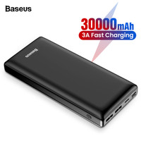 Baseus Mini JA Power Bank 30000 mAh USB/USB-C PD/micro USB/Lightning3A