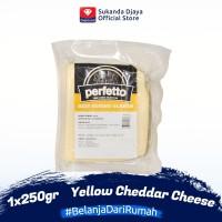 Perfetto Keju Kuning Olahan / Yellow Cheddar Cheese 250 gr